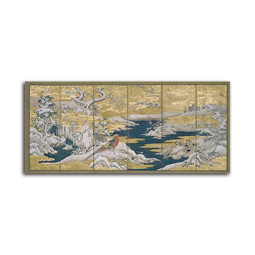 絵画 和モダン 大型 高級 Japanese Screen II SIZE 1000*460mm 壁掛け 装飾 絵 壁絵 インテリア