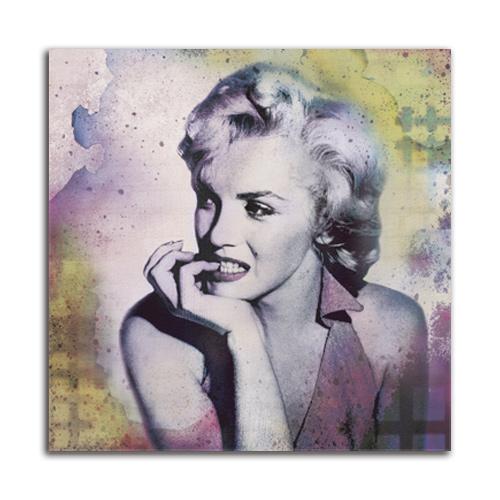 絵画 インテリア PLEXIGLAS マリリンモンロー Memoir VI壁掛け 絵 おしゃれ 装飾 壁アート フォトアート SIZE 750*750mm