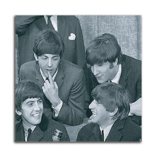 絵画 インテリア PLEXIGLAS The Beatles III デザイン空間 リュクスアート フレームレス ココユーロSIZE 900*900mm
