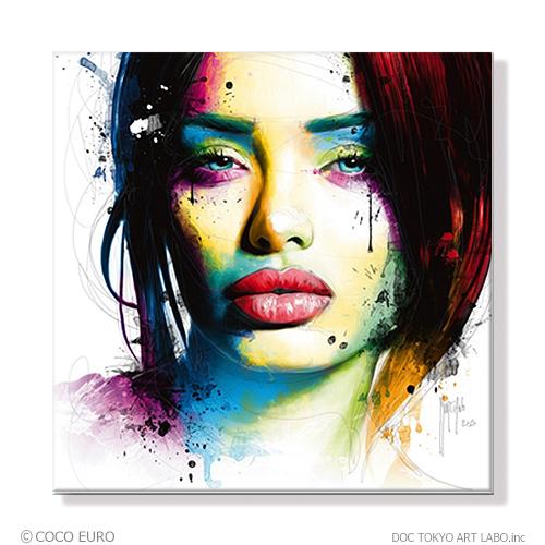PLEXIGLAS Aurelie SIZE 890x890mm 絵画 インテリア おしゃれ 壁掛け 絵 ポップアート ビビッド /上位モデル