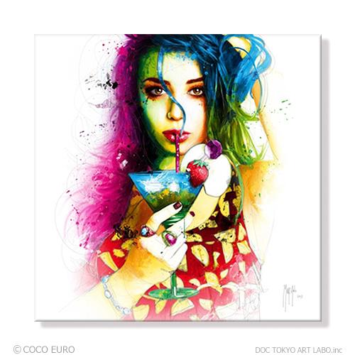 PLEXIGLAS Cuba Libre SIZE 890x890mm 絵画 インテリア アート モダン おしゃれ 壁 飾り 絵 ポップ アクリル カラフル ビビッド /上位モデル
