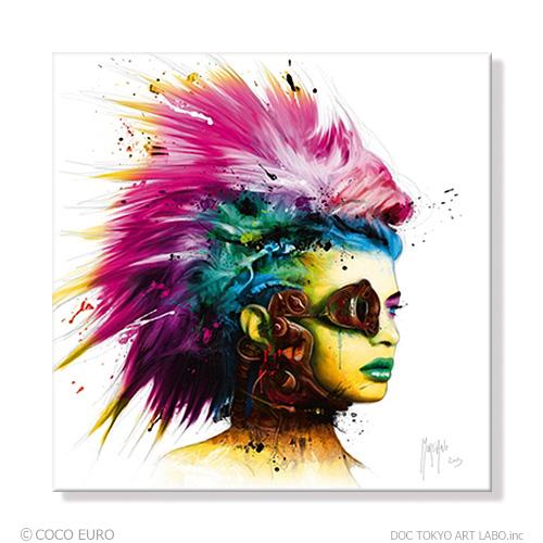 PLEXIGLAS Cyber Punk 2 SIZE 890x890mm 絵画 インテリア おしゃれ 壁掛け 絵 ポップアート ビビッド /上位モデル