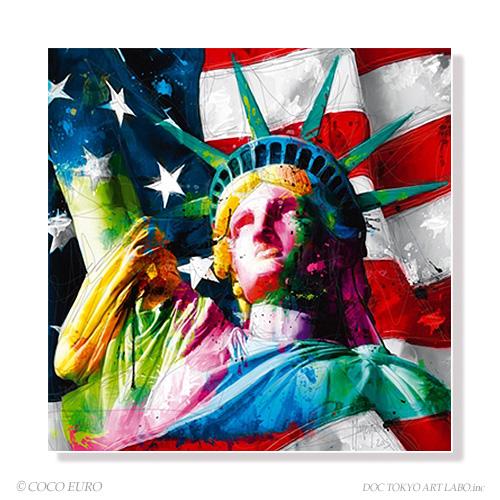 PLEXIGLAS Liberty SIZE 890x890mm 絵画 インテリア アート モダン おしゃれ 壁 飾り 絵 ポップ アクリル カラフル ビビッド /上位モデル