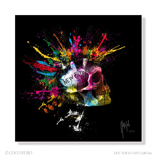 PLEXIGLAS New Future SIZE 890x890mm 絵画 インテリア アート モダン おしゃれ 壁 飾り 絵 ポップ アクリル カラフル ビビッド /上位モデル