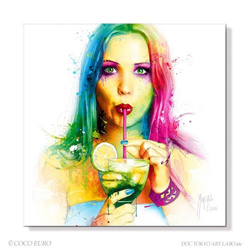 PLEXIGLAS Salsa Caliente SIZE 890x890mm 絵画 インテリア おしゃれ 壁掛け 絵 ポップアート ビビッド /上位モデル