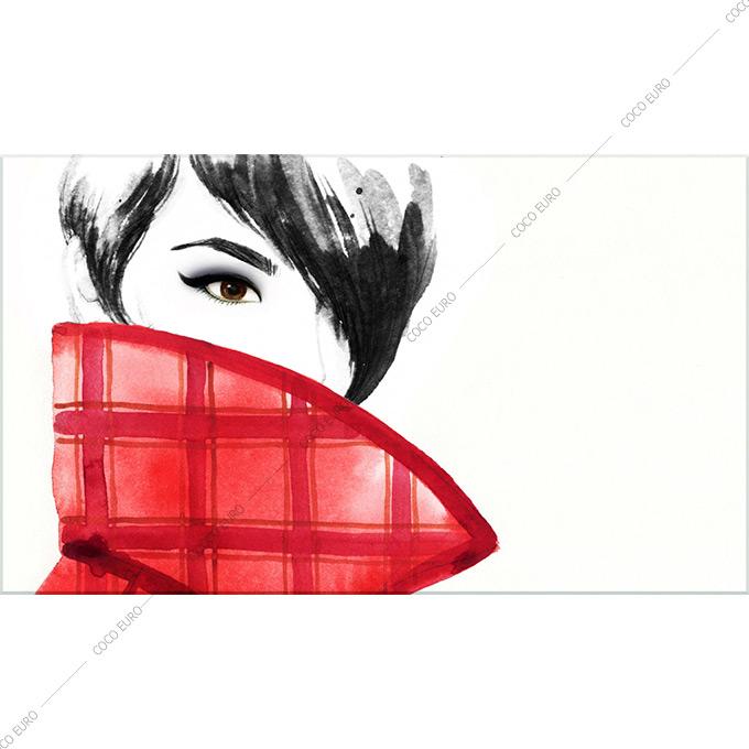 絵画 おしゃれ PLEXIGLAS Art de la mode4 SIZE mm 700*1200 アート 装飾 壁 絵 ココ コブラアート上位モデル 高級 フレームレスアート