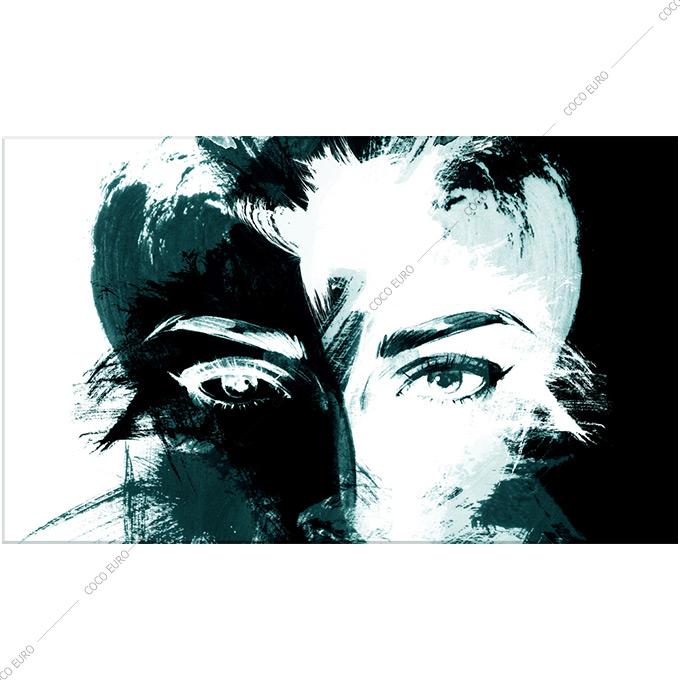激安通販の 絵画 壁掛け PLEXIGLAS Visage de femme1 SIZE mm 1300*2000 アート 装飾 壁 絵 ココ コブラアート上位モデル 高級 フレームレスアート, かべがみファクトリー 99c4bb13