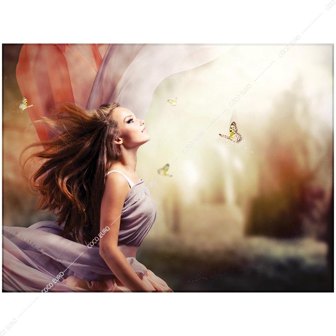 絵画 PLEXIGLAS Magical Spring Garden SIZE mm 800*1050 アート 装飾 壁 絵 ココ コブラアート上位モデル 高級 フレームレスアート