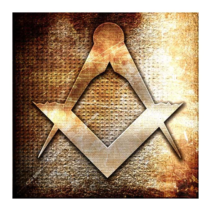 絵画 大型 高級 PLEXIGLAS Masonic symbol SIZE/mm 1000*1000 「希少なSymbolArtで神秘的なひと時を。」シンボル 装飾 絵 壁絵 ラウンジ VIP