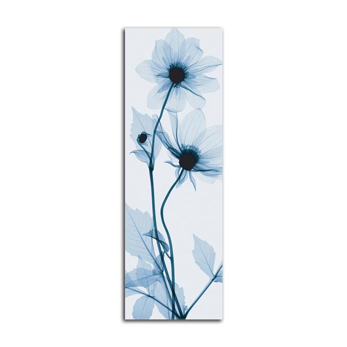絵画 縦長 高級 花 Tall Dahlia SIZE/mm 280*890 おしゃれ 壁掛け 絵 インテリア「究極の繊細美 PLEXIGLASレントゲンアート」