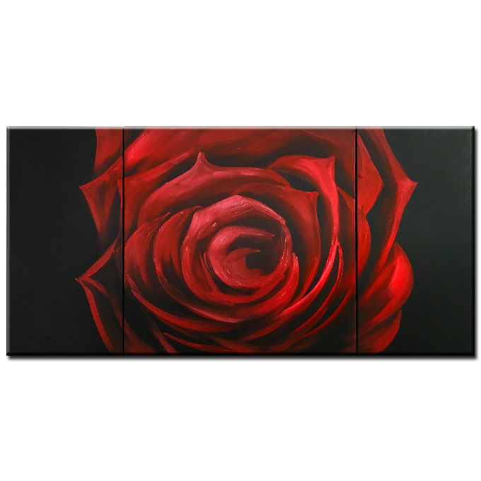 絵画 floral design 花柄 3枚組 W800mmハーフサイズ 一般住宅向絵画 壁掛け インテリア 抽象アート 花柄 和風 和モダン等 約400種を取扱住空間のリニューアル リフォーム等へ