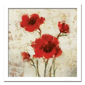 絵画 花 壁掛け インテリア 長く飾れる「派手すぎない花柄デザイン20選」リビング 玄関や廊下エントランスにロングセラー商品 壁掛け 額入り 完成品Tim O'toole SIMPLY FLORAL2