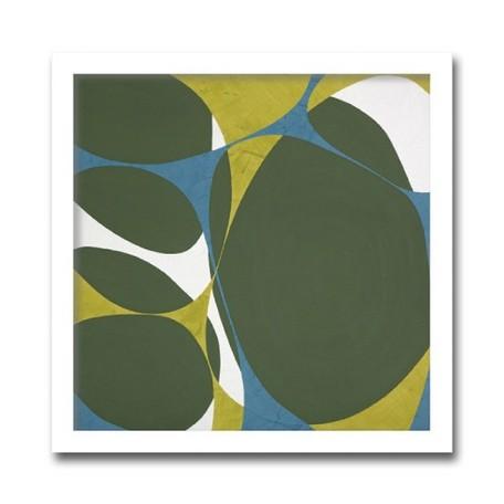 絵画 花 壁掛け インテリア 初めてのアートなら「安定の抽象花柄デザイン」ロングセラー商品 壁掛け 額入り 完成品Marilu Datali Hartnett FLOWER POWER15 フラワーパワーシリーズ