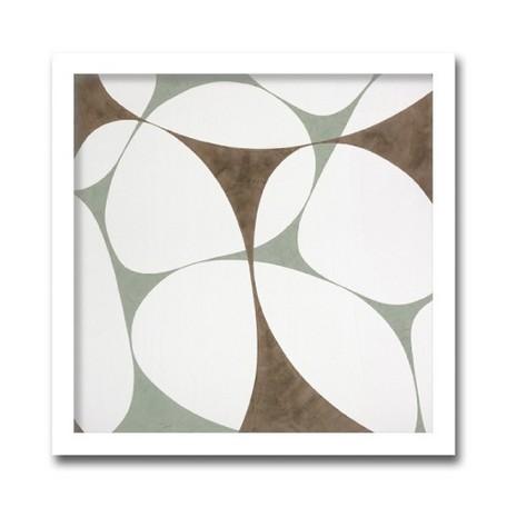 絵画 花 壁掛け インテリア 初めてのアートなら「安定の抽象花柄デザイン」ロングセラー商品 壁掛け 額入り 完成品Marilu Datali Hartnett FLOWER POWER14 フラワーパワーシリーズ