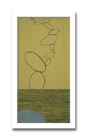 絵画 花 壁掛け インテリア 初めてのアートなら「安定の抽象花柄デザイン」ロングセラー商品 壁掛け 額入り 完成品M.D.Hartnett THIRD JOURNEY 1 ジャーニーシリーズモダンリビング ベッドルーム ダイニング アートラボセレクト