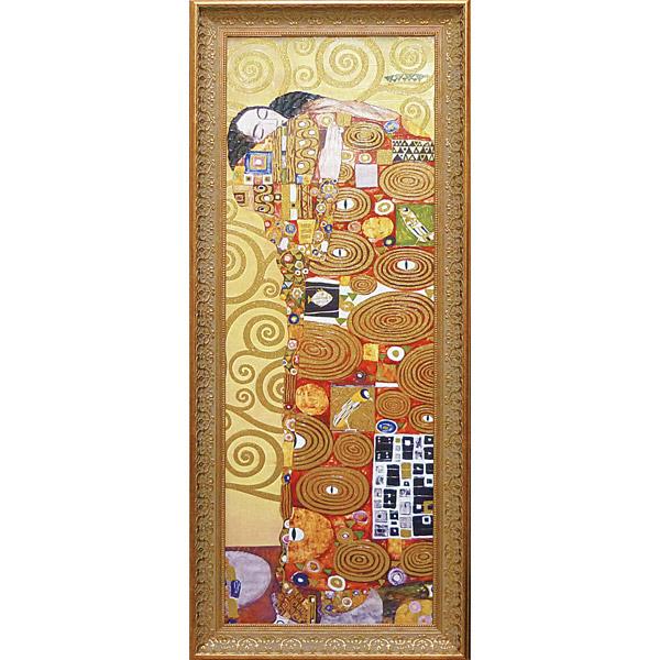 クリムト 抱擁 絵画 壁掛け アートフレーム おしゃれ 絵 内装用インテリアクリムト モネ ゴッホ などの名画 アートポスター