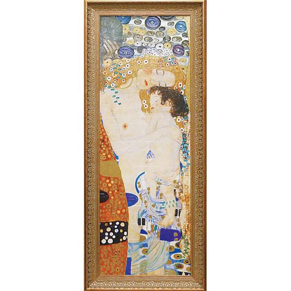 グスタフ・クリムト 人生の三段階 絵画 壁掛け アートフレーム おしゃれ 絵 内装用インテリアクリムト モネ ゴッホ などの名画 アートポスター