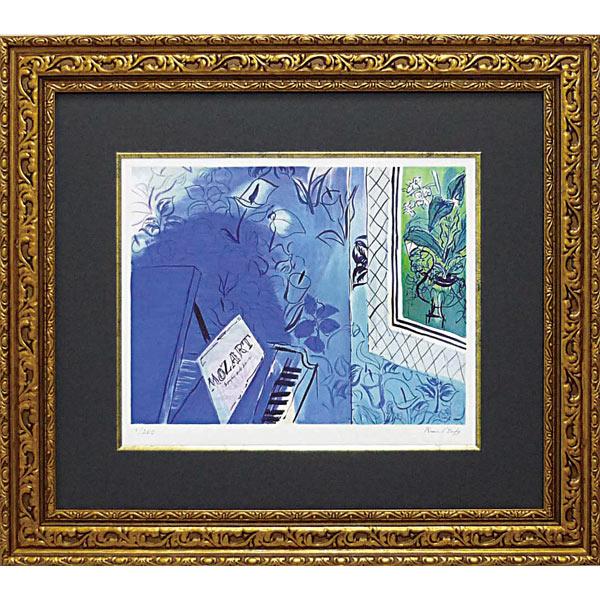 デュフィ モーツァルトに捧ぐ 絵画 壁掛け アートフレーム おしゃれ 絵 内装用インテリアクリムト モネ ゴッホ などの名画 アートポスター