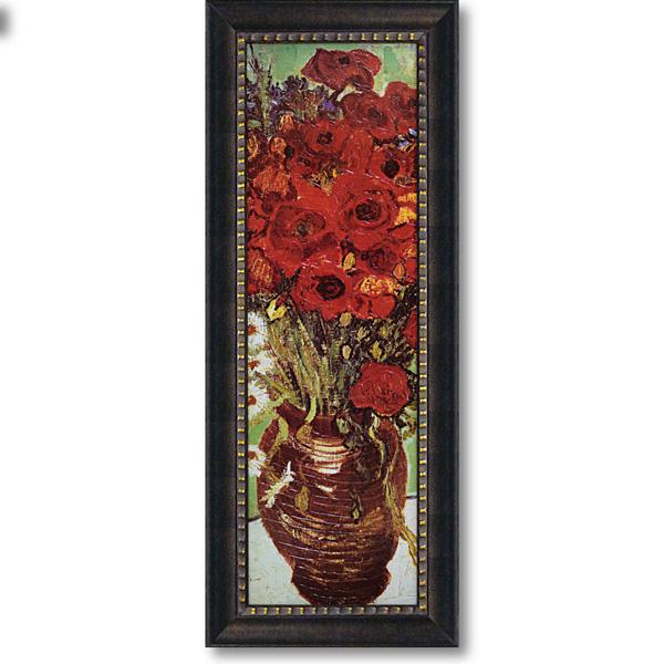 花瓶のデイジーとポピー ゴッホ 絵画 壁掛け アートフレーム おしゃれ 絵 内装用インテリアクリムト モネ ゴッホ などの名画 アートポスター