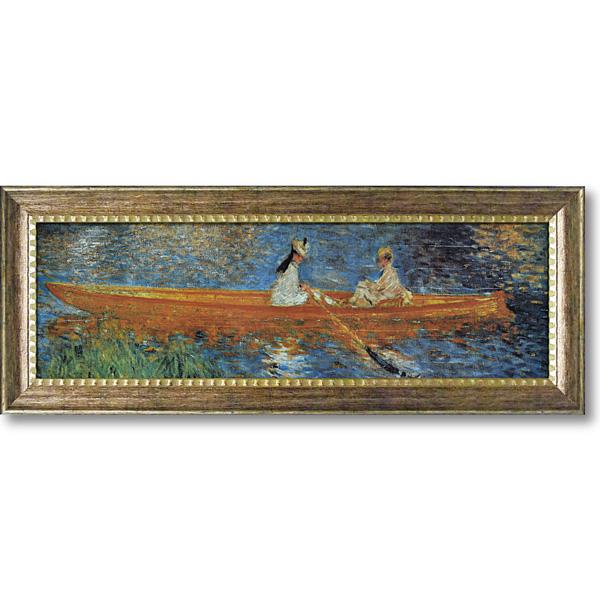 ルノワール セーヌ川のボート遊び絵画 壁掛け アートフレーム おしゃれ 絵 内装用インテリアクリムト モネ ゴッホ などの名画 アートポスター