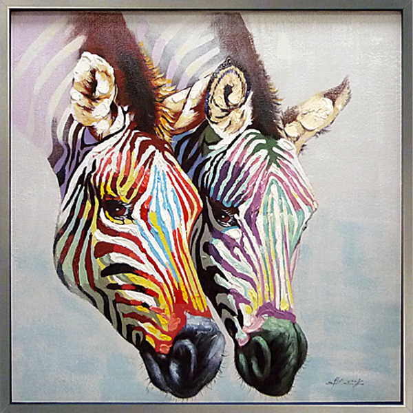 Zebra Wall Art tokyo art lab.inc. | rakuten global market: wall-painting art