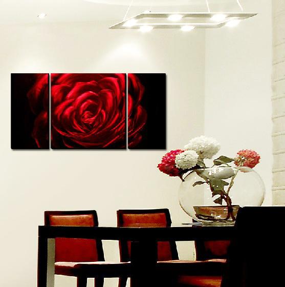 絵画【バラの花】インテリア 壁掛け おしゃれ 絵 アートパネル インテリアアート 油絵 ROSE