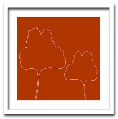 絵画 POLLA DavideFeuilles2009壁掛け インテリア 絵 おしゃれ 壁絵 飾り 装飾 壁 写真 アート 額入りクリニック カフェ ヴィラ ゲストルーム