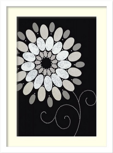 絵画 インテリア 北欧 アート ポスター DESIGN SHOW/SYMPHONY OF BLUES2おしゃれ 壁掛け 額入り 玄関 飾る ホスピタル パブリック