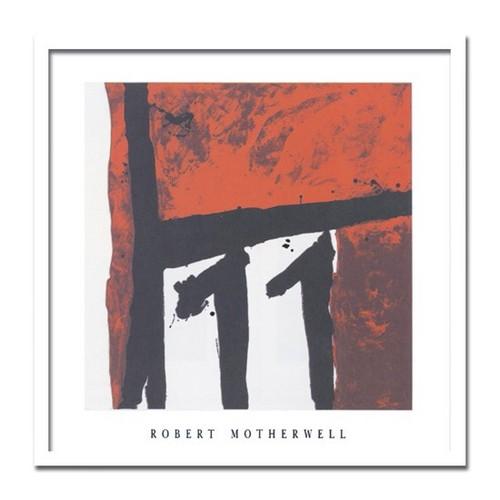 モダンアート 絵画 大型 抽象 Robert Motherwell/Mexican night 1979 メキシカンナイト1979 インテリア アート MOMA 北欧