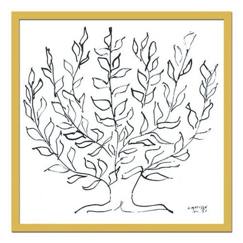 絵画 抽象 モダン H.Matisse(マティス)Le platane 1951 絵 おしゃれ 壁掛け インテリア 壁絵 アート 有名 MOMA 北欧 コンドミニアム ゲストルーム