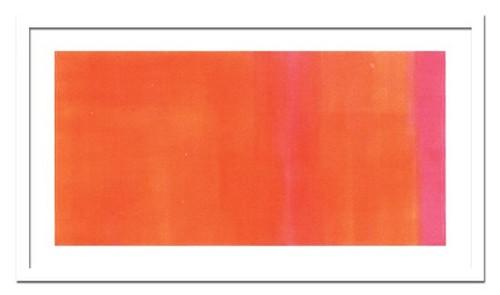 絵画 抽象 モダン S.Susanne/Orange-Magenta 2005 オレンジ マゼンタ 2005 絵 おしゃれ 壁掛け インテリア 壁絵 アート 有名 MOMA 北欧 コンドミニアム ゲストルーム