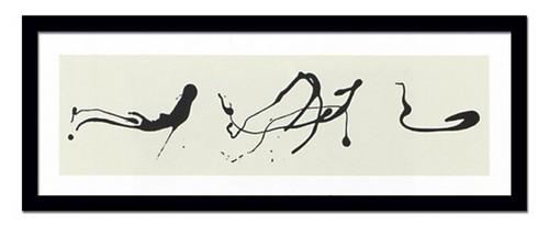 モダンアート 絵画 大型 抽象 巨匠ポロック Zeichnung trepftechnikおしゃれ 壁掛け アート インテリア 有名 額入り 額付き アートポスター