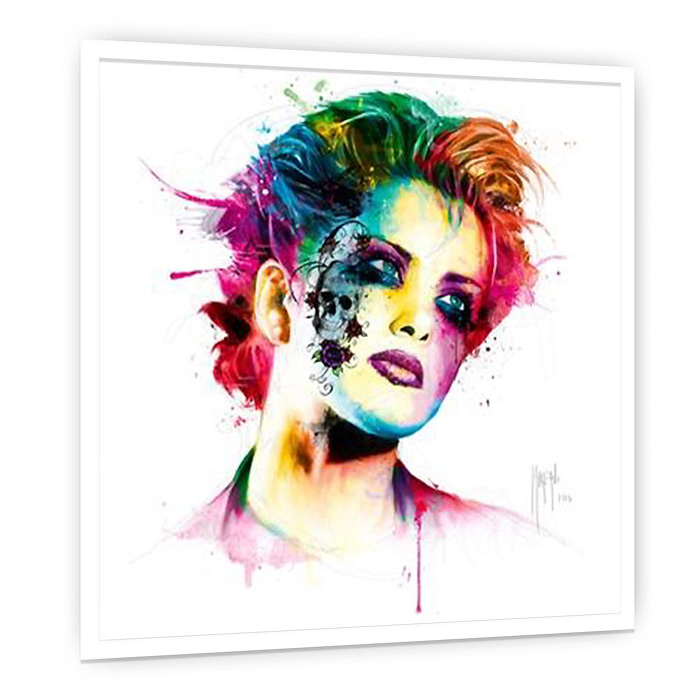 SkinPop 絵画 インテリア 壁掛け アート 額入り ポスター アートポスター アートフレーム デザイナーズ ビビッド