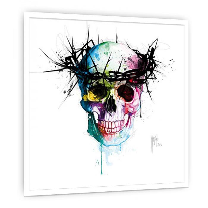 Jesus'Skull 絵画 インテリア 壁掛け アート 額入り ポスター アートポスター アートフレーム デザイナーズ スカル【店頭受取対応商品】