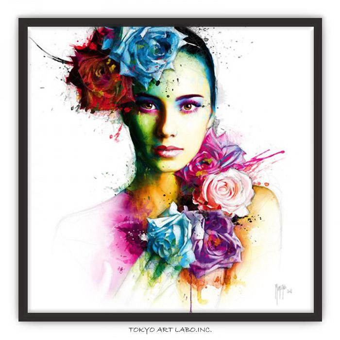 絵画 インテリアアート Ambre P.MURCIANO 壁掛け アートポスター 額入り 額付き 壁 飾る 絵 モダン おしゃれ 大きいサイズ 額絵 有名 カラフル
