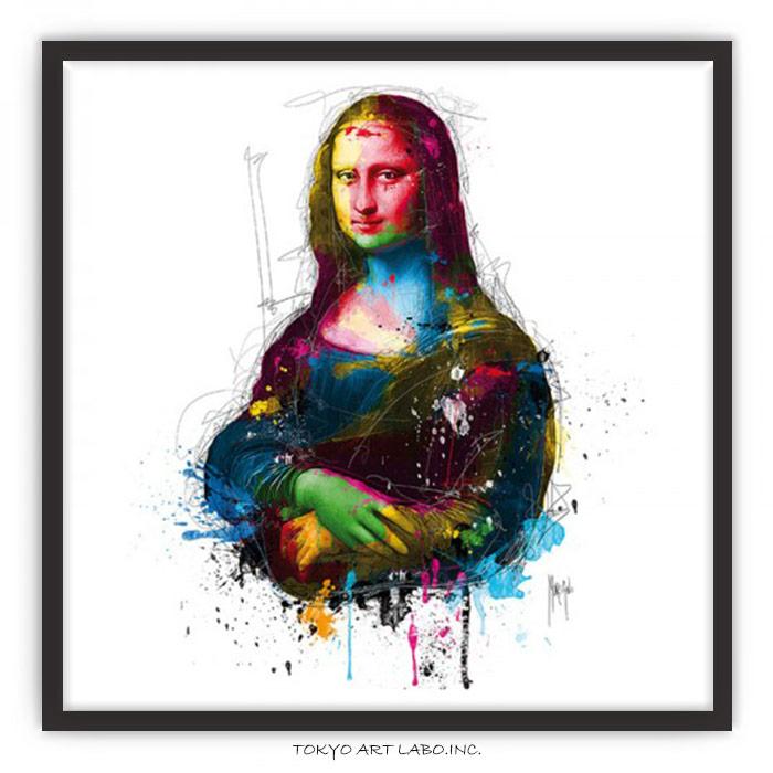 絵画 インテリア おしゃれ アートポスター /モナ・リザ Da Vinci Pop ポップアート/ アートパネル 絵 カラフル アート ブランド セレブ サロン ラウンジ