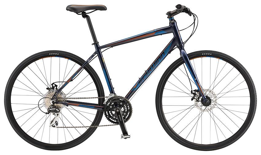 【整備済】【30%OFF】2017 SCHWINN(シュウィン)SUPER SPORT2DISC クロスバイク 在庫限り