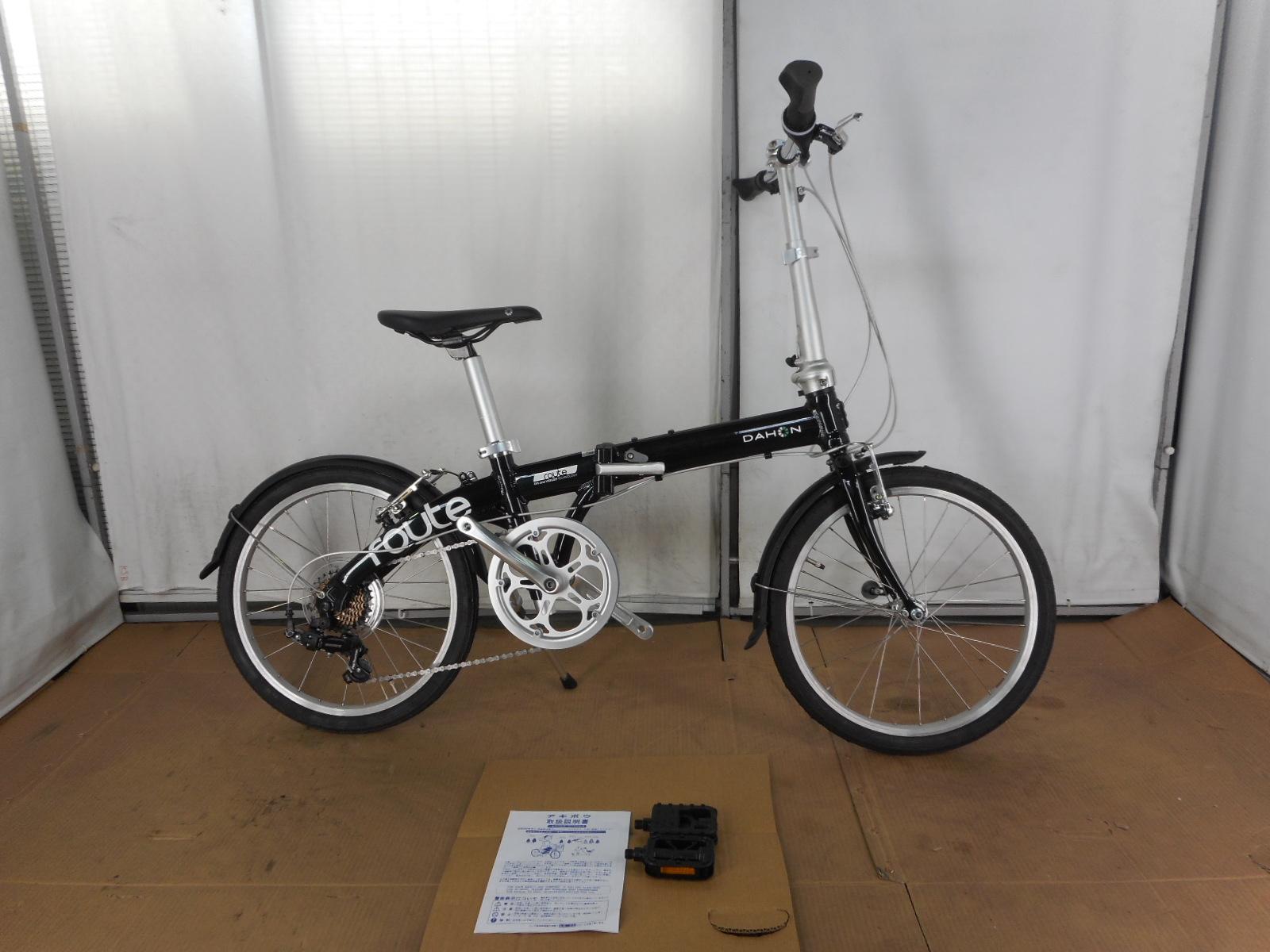 【整備済】『30%OFF』アウトレット2019DAHON(ダホン)ROUTE ルート FOREST GREEN  折りたたみ自転車 在庫限り