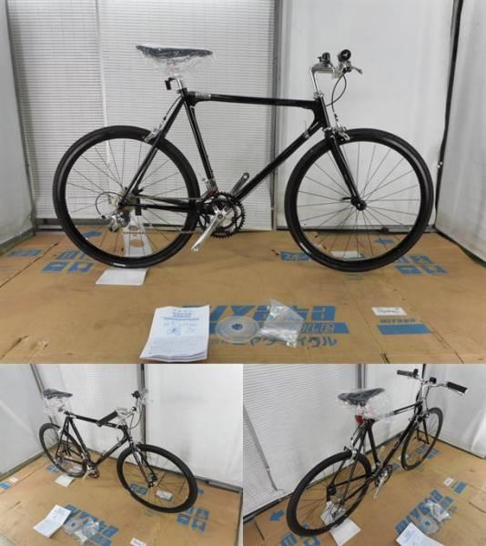 【整備済】【45%OFF】アウトレット2016Tern(ターン) Gleam Gloss Black 53cm クロモリクロスバイク