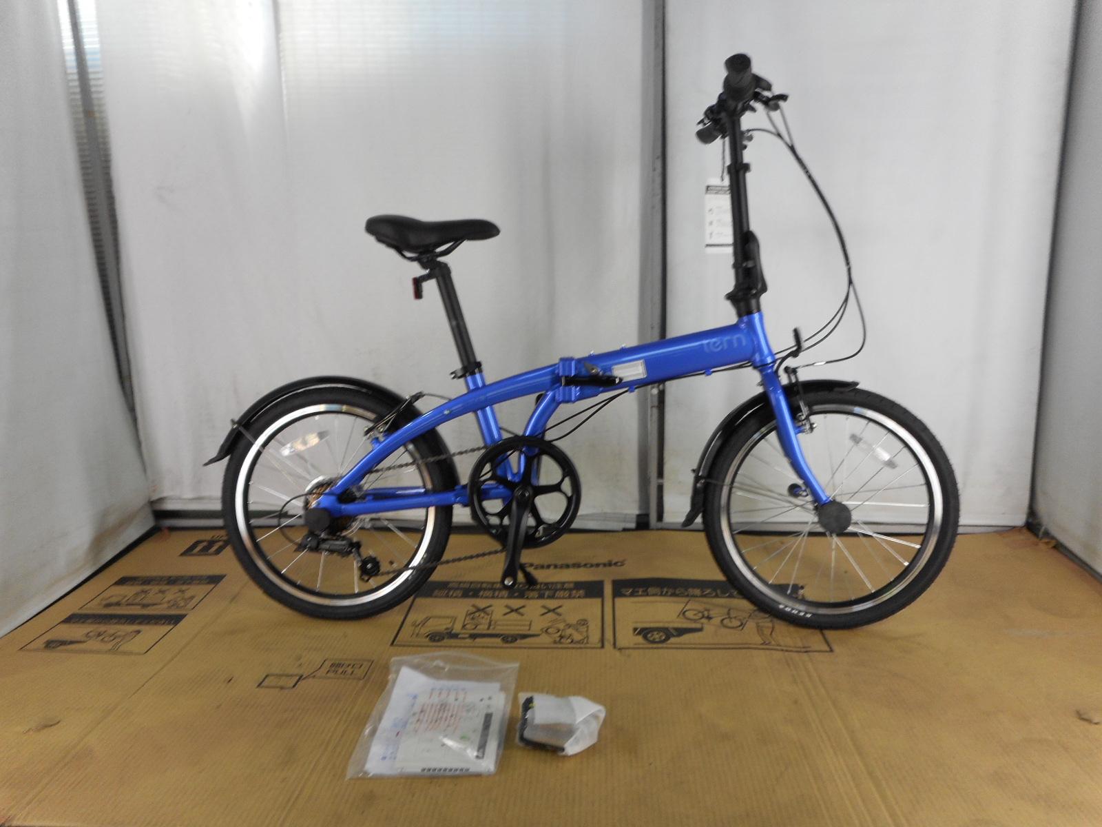 【整備済】【30%OFF】アウトレット2018Tern(ターン)LINK A7(リンクA7) Blue/Blue 折りたたみ自転車 在庫限り