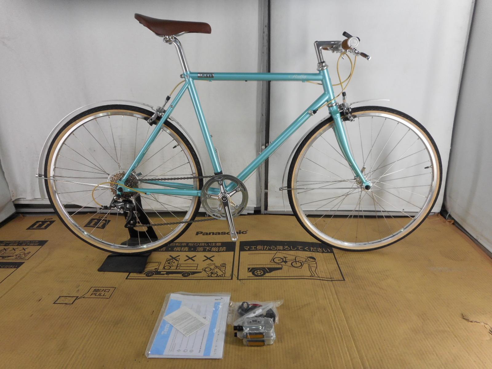 【整備済】【30%OFF】アウトレット2018Tern(ターン) RALLY AQUA 650C 50cm クロモリクロスバイク