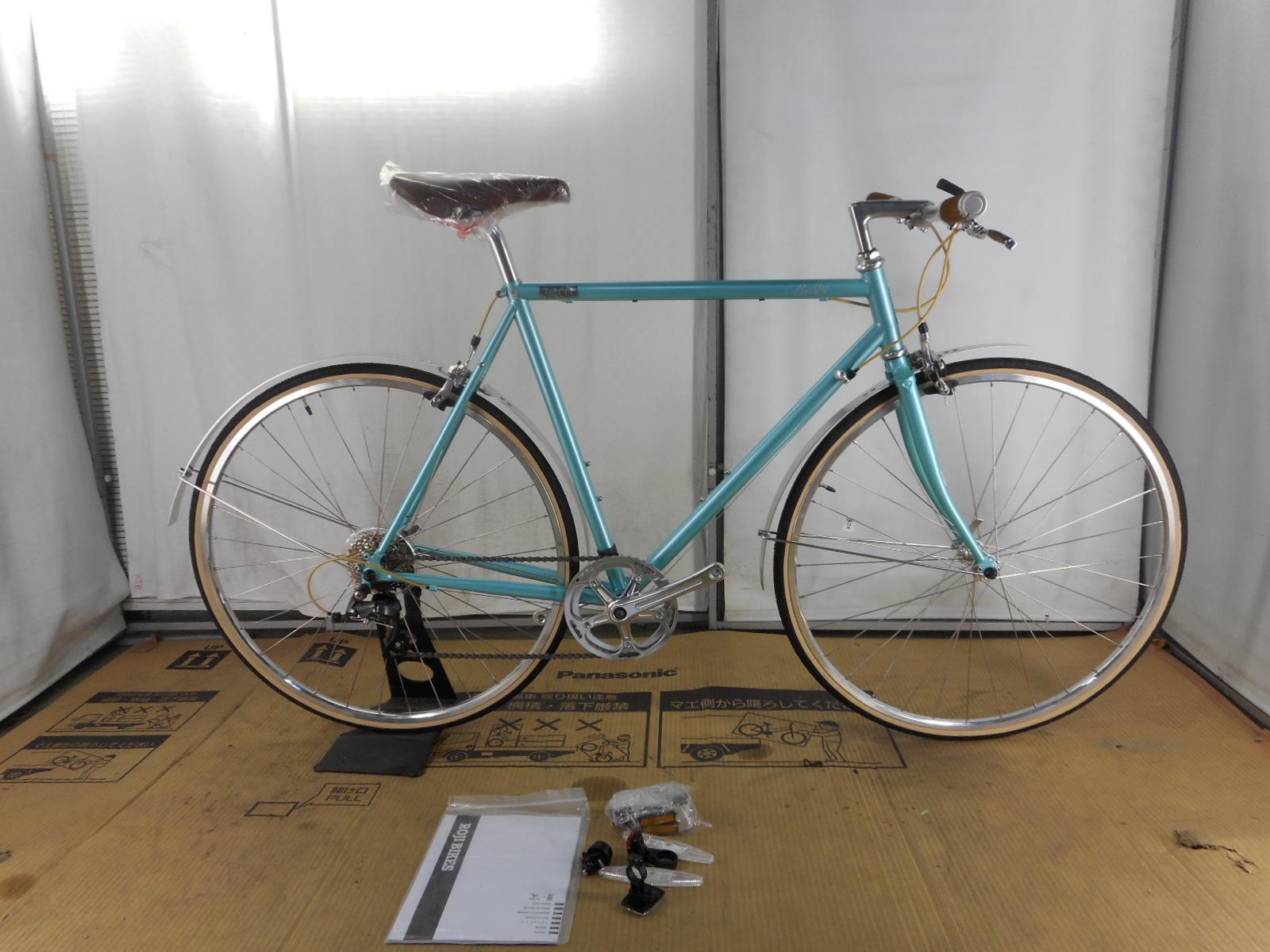 【整備済】【30%OFF】アウトレット2018Tern(ターン) RALLY AQUA 700C 56cm クロモリクロスバイク