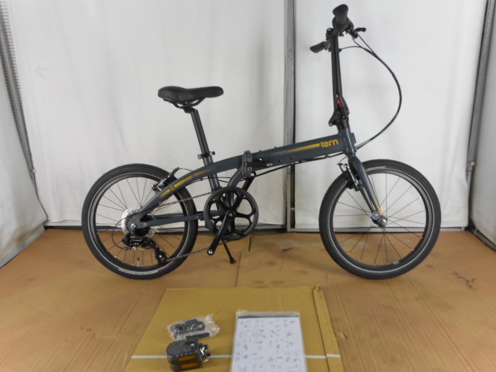 【整備済】【30%OFF】アウトレット2019Tern(ターン)LINK C8(リンクC8) MATTE SHALE MANGO 折りたたみ自転車 在庫限り