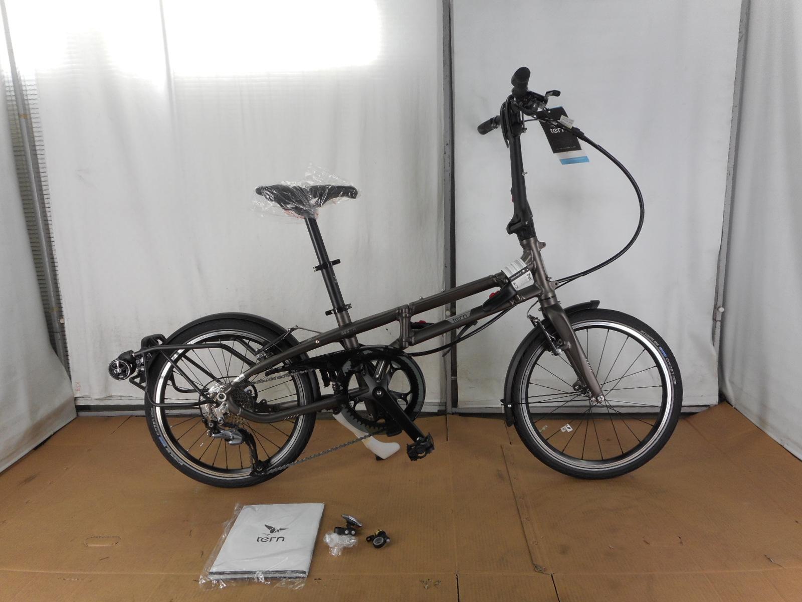 【整備済】【30%OFF】アウトレット2020 Tern(ターン)BYB P8 DARK BRONZE 折りたたみ自転車 在庫限り