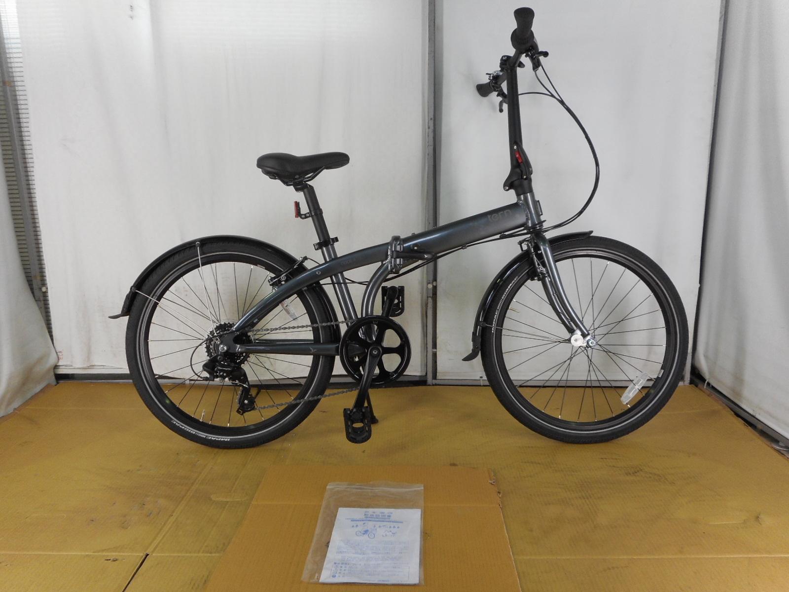【整備済】【30%OFF】アウトレット2020Tern(ターン)Node C8(ノードC8)GUNMETAL GRAY 折りたたみ自転車 在庫限り