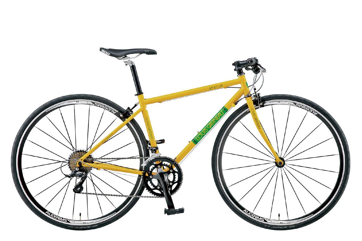 【整備済】【35%OFF】2014 LOUIS GARNEAU(ルイガノ)LGS-LCF クロモリクロスバイク 在庫限り