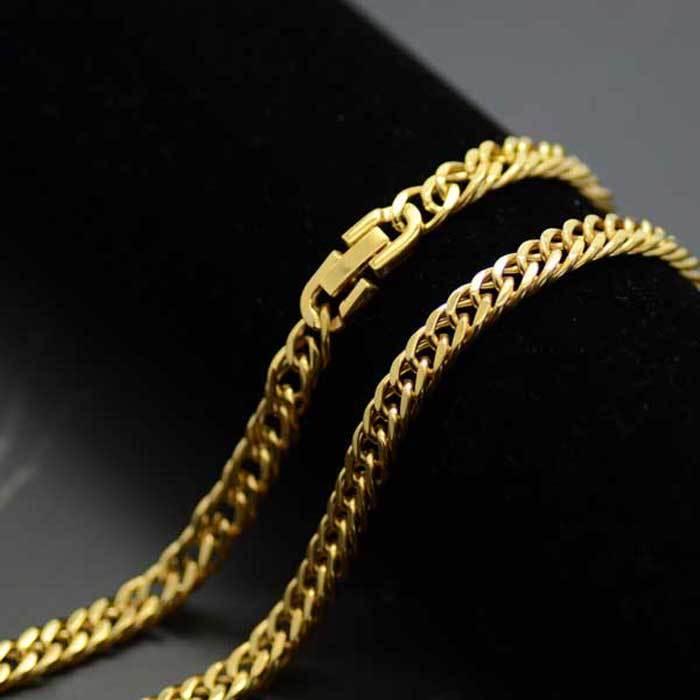 高品質サージカルステンレス製喜平ネックレス ゴールドネックレス ゴールド喜平 Seasonal Wrap入荷 サージカルステンレス製 7mmゴールド4面カット喜平ネックレスチェーン 55cm 50cm 45cm 買い取り 60cm