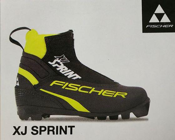 【フィッシャー】クロスカントリースキーブーツ XC XJ SPRINT BLACK