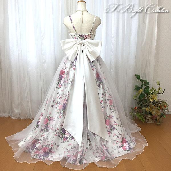 *【ベルト付入荷】ウェディング ドレスにつけて可愛さアップ ビッグ ロング ドレス小物117 【ベルト付入荷】【大きなリボン】ドレスリボン 100cm・120cm アクセサリー オフホワイト オーガンジー ウエディングドレスアレンジ(RBN3)
