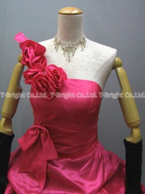 Sizes g. poop around a gorgeous dress ★ Princess ★ (pink x black) 51922